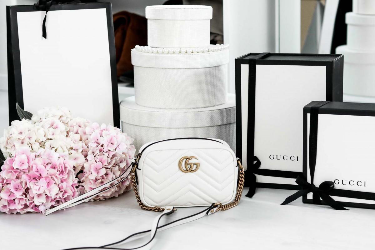 Gucci, Bag, Unboxing, Marmont, Crossbody, Shopping, Milan