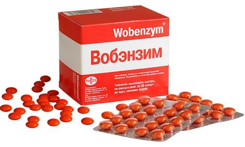 Прием вобэнзима до еды или после. «Вобэнзим» для похудения – миф или реальность