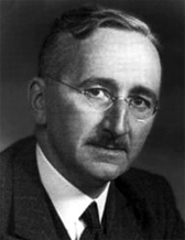 photo portrait of F. A. Hayek