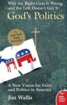 book jacket with political donkey and elephant and cross