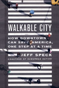 Walkable City book jacket with no mention in index of disabled or handicapped people