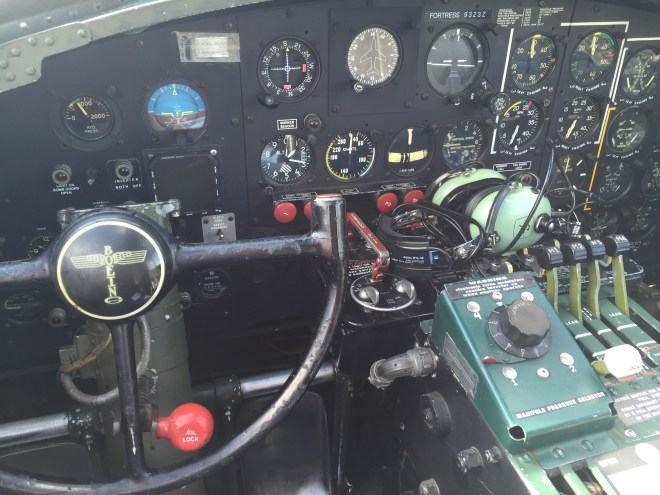 B-17 Captain's seat continued