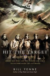 book jacket photos of bomber pilots from WWI Eighth Airforce Flying Fortresses B-17s