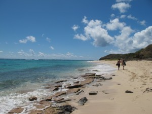 Jacks and Isaacs Bay St Croix Beach