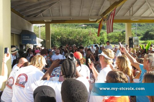 Ziggy's St Croix Johnny Cake Eating Contest