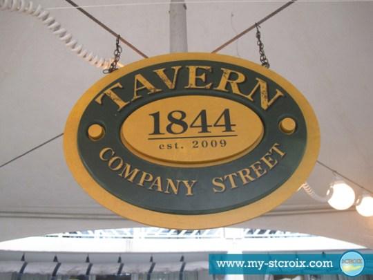 Taste of St Croix Tavern 1844