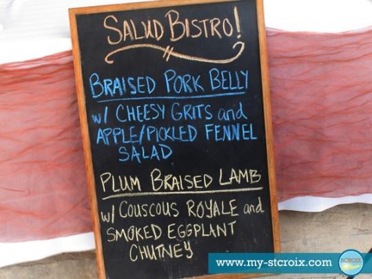 Taste of St Croix Salud Bistro