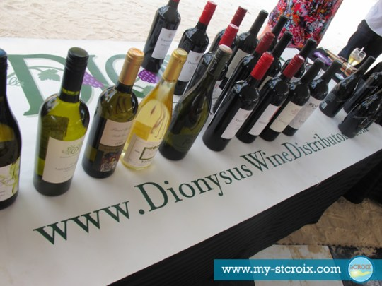 Taste of St Croix Wine