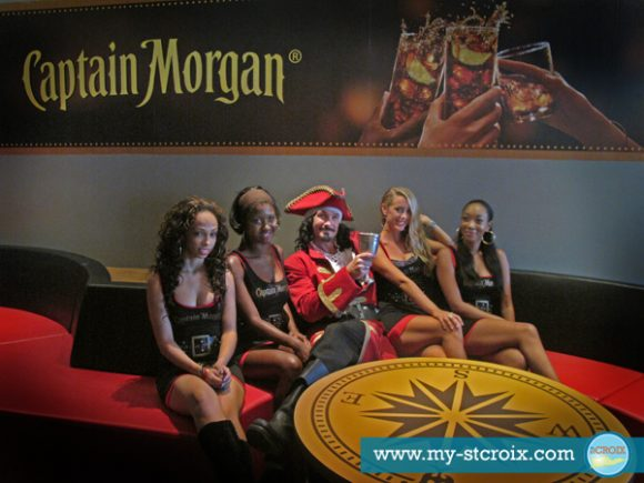 Captain Morgan and the Morganettes St Croix