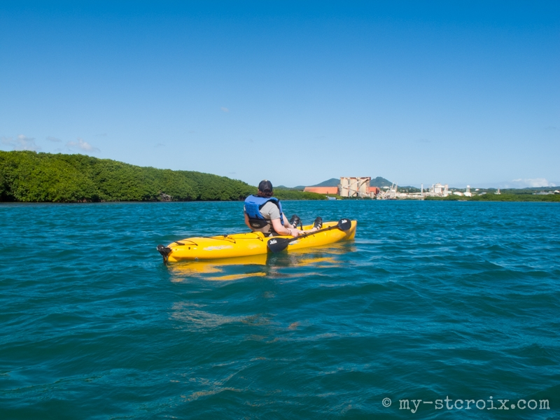 Virgin Kayak Tours Hobie Mirage