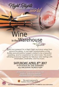 Wine in the Warehouse 2017