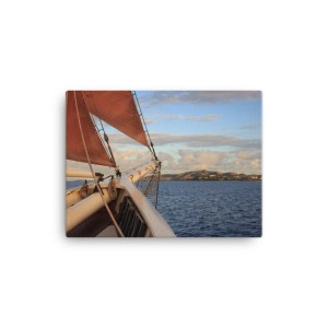 Sail Away to St Croix Canvas