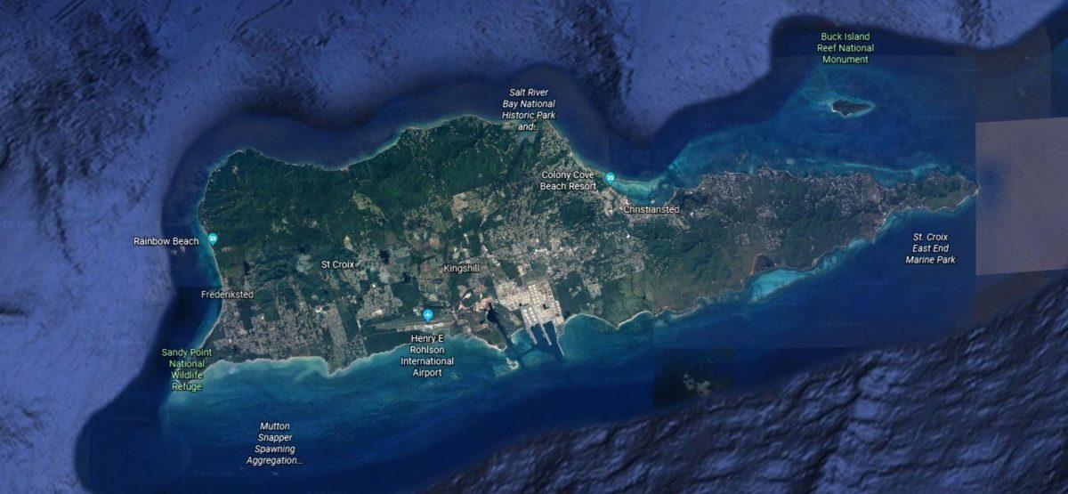 Google Earth St Croix