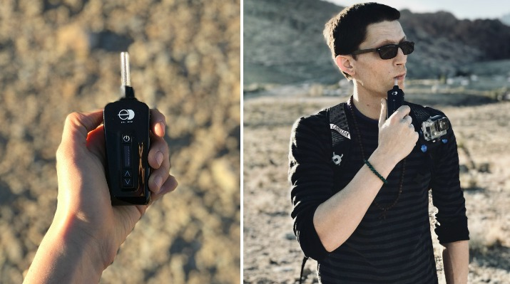Review: E-Clipse Dry Herb Vaporizer from NYVapeShop (4.7 out of 5 stars)