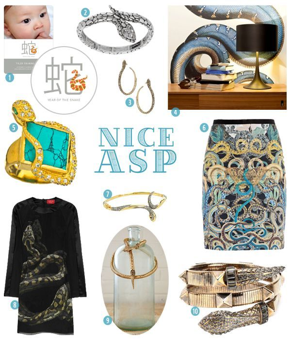 Nice Asp- Snake Inspired Designs