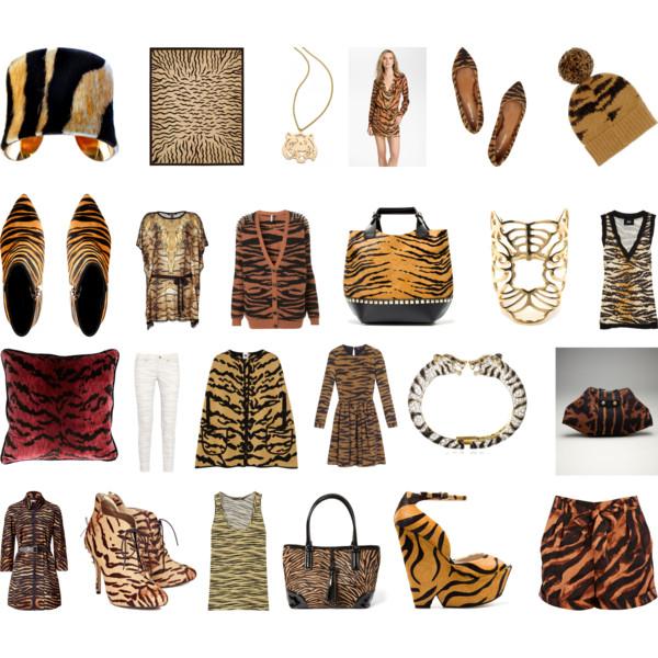 Things I love Tiger Stripes II