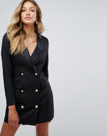 Missguided Tux Dress $64