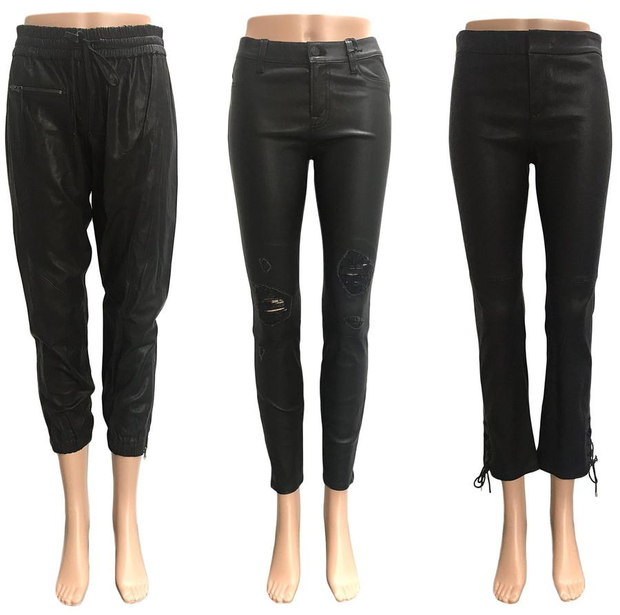 Newly Added Black Leather Pants