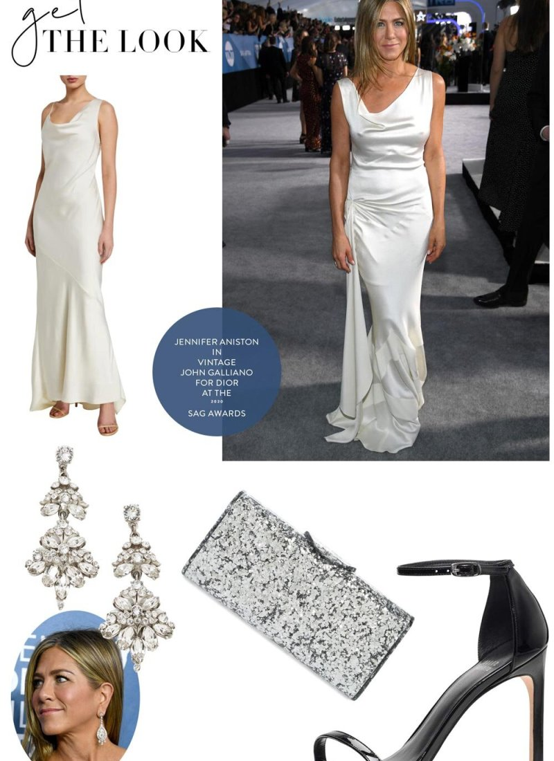 Get the Look: Jennifer Aniston at the 2020 SAG Awards