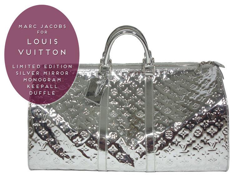 Louis Vuitton Mirror Metallic Silver Bag