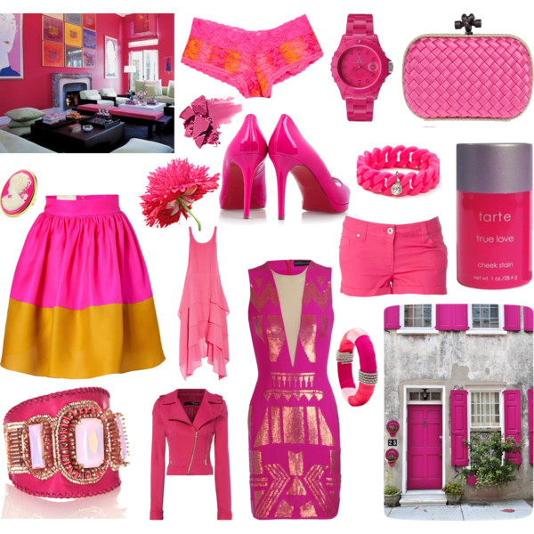 The Edit- Hot Pink