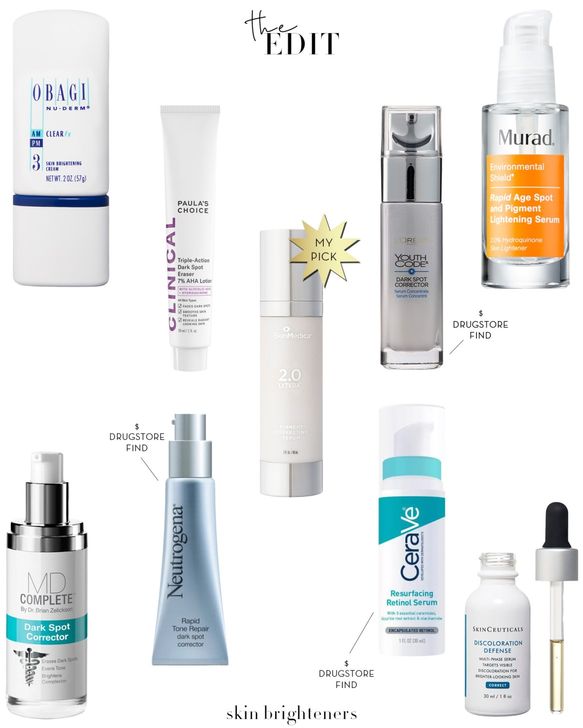 The Edit- Skin Brighteners