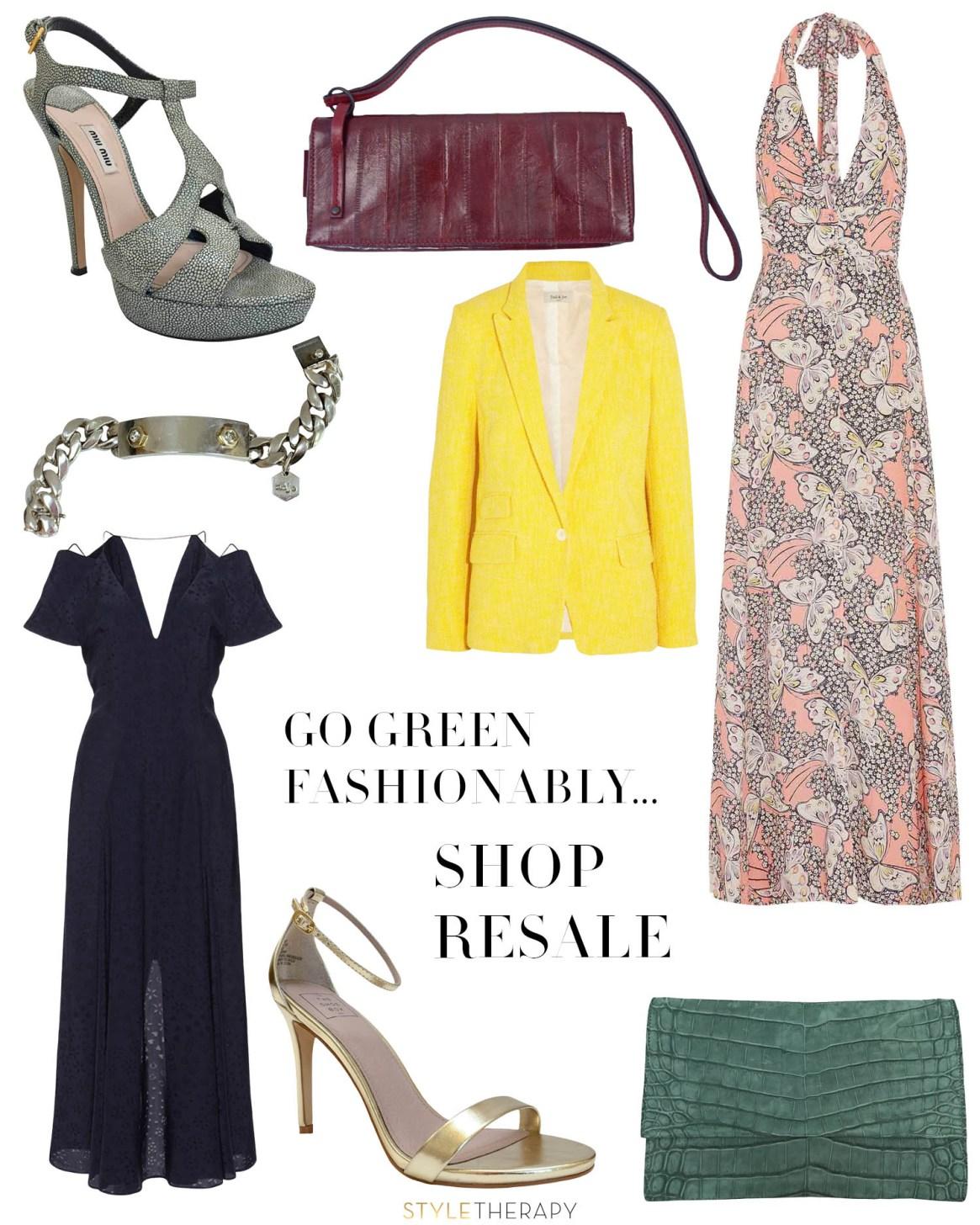 Go Green Fashionably Shop Resale