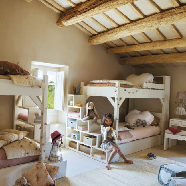 Gorgeous Kids Room In The Attic My Sweet House