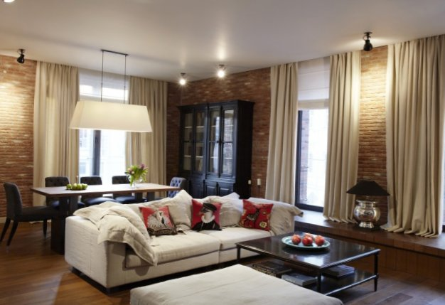 American Style Apartment In Moscow