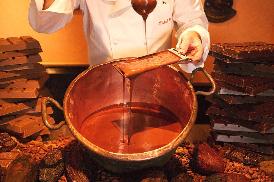 Производство швейцарского шоколада