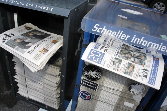 Газеты Швейцарии. 20 minuten