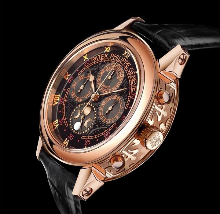 Золотые часы Patek Philippe