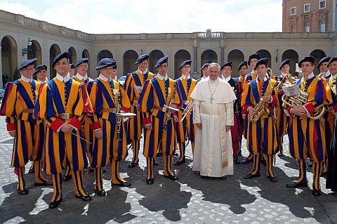 Швейцарская гвардия Папы Римского