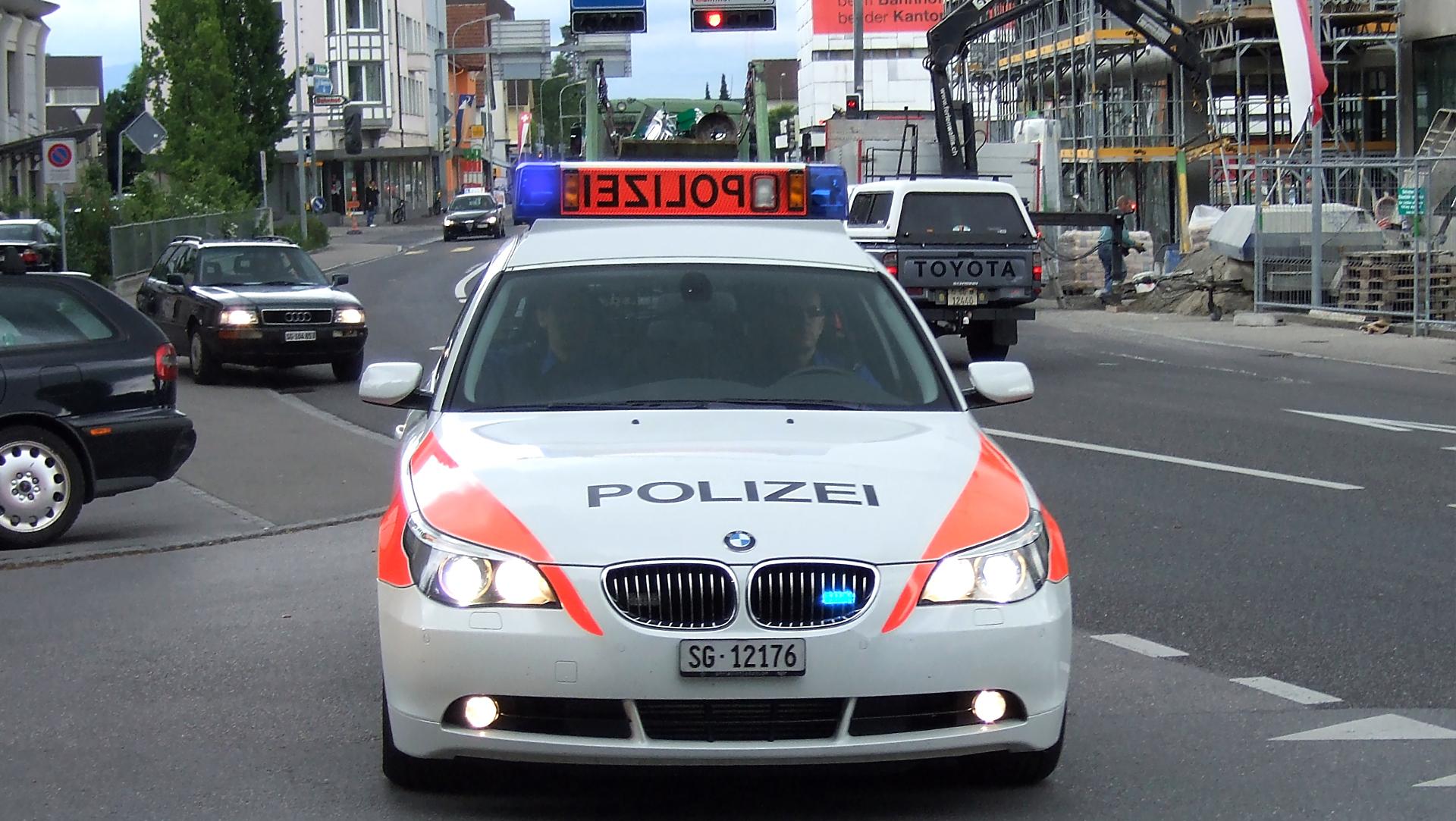 Швейцарская полиция