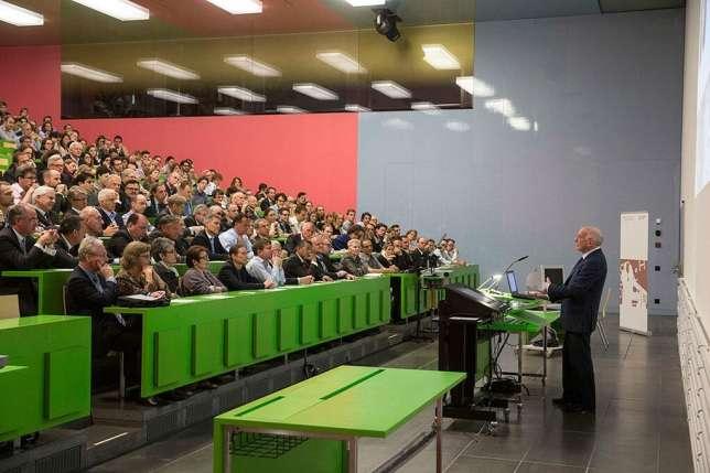 Цюрихский университет. Лекционная аудитория
