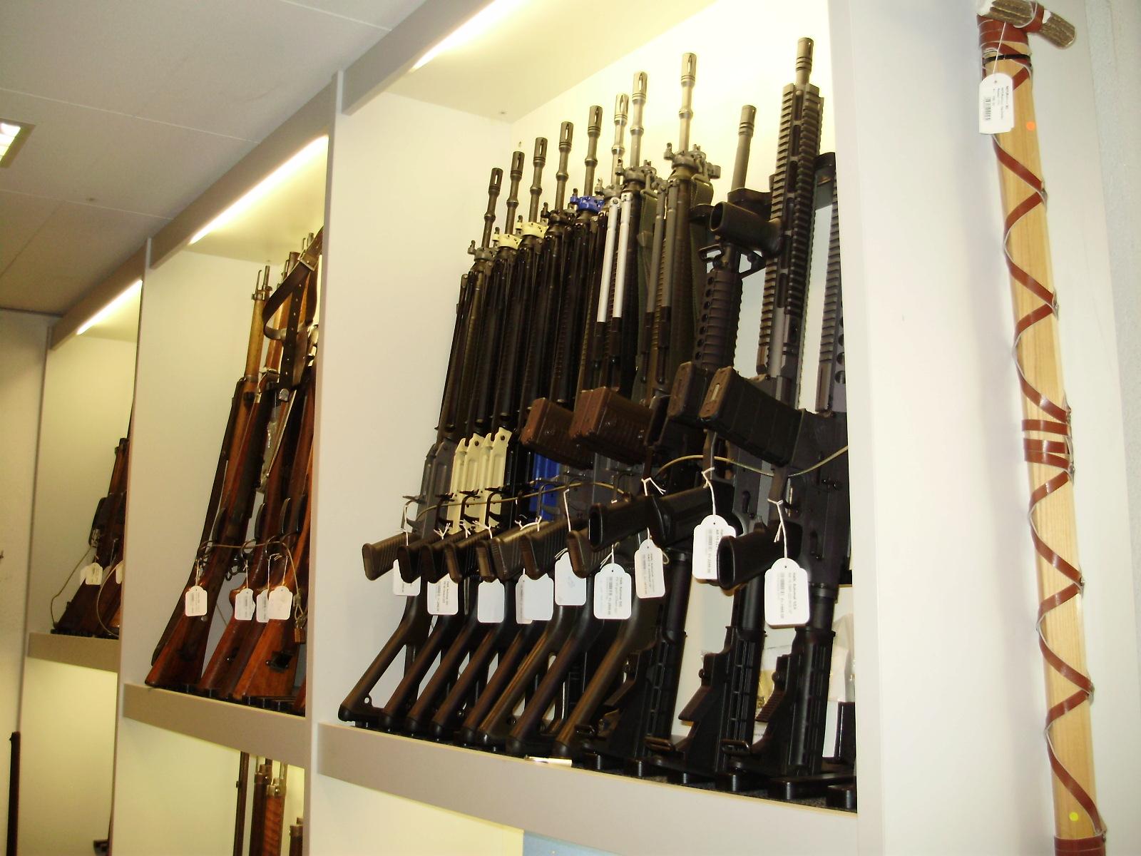 Гражданское оружие в Швейцарии