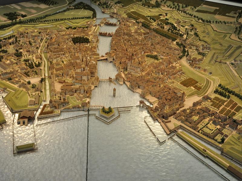 Модель старого Цюриха