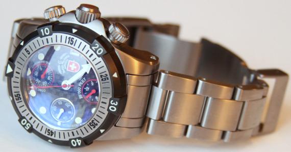 Швейцарские часы для подводного плавания «CX Swiss Military Watch 20 000 Feet»