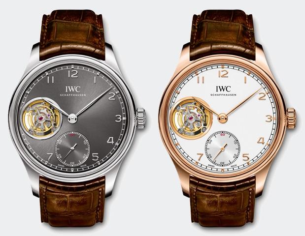 Часы IWC с устройством турбийон