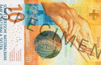 Новые 10 франков