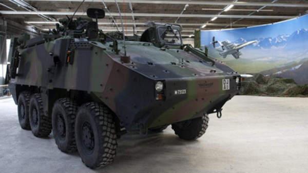 Бронированные боевые машины также идут на экспорт