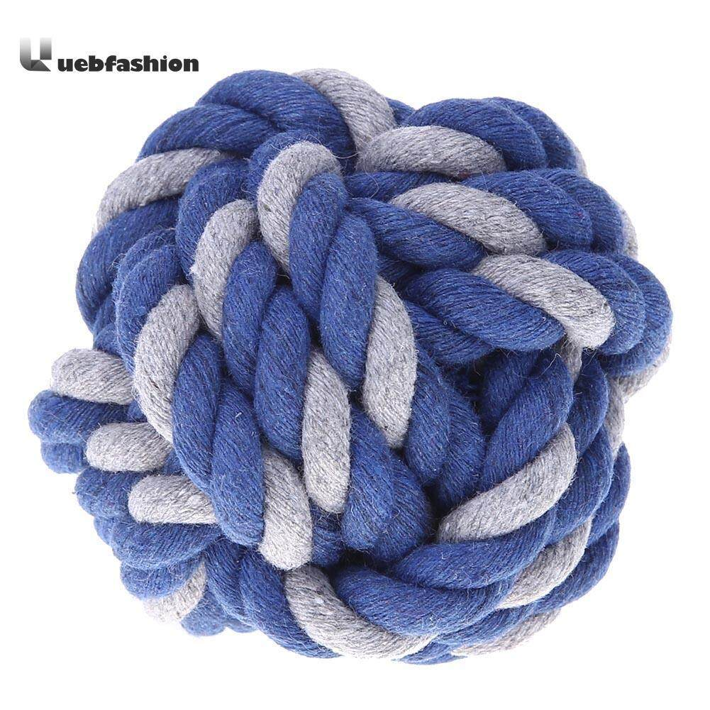 Tightly Knitted Cotton Rope Teeth Grinding Ball Dog Chewing Bite Pet Toys Accessories