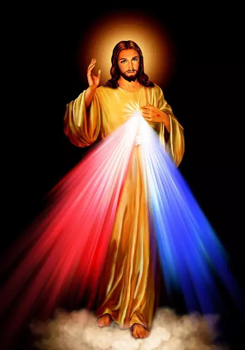 divine mercy jesus christ poster a print roman catholic pictures images sacred heart of jesus painting religious christian holy wall art decor for
