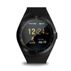 TS Tahan Air Bluetooth Smart Jam Tangan dengan Kartu SIM Beberapa Fungsi Yang Kuat untuk Ponsel Pintar Android Samsung HTC Sony LG Huawei Lenovo dan iPhone