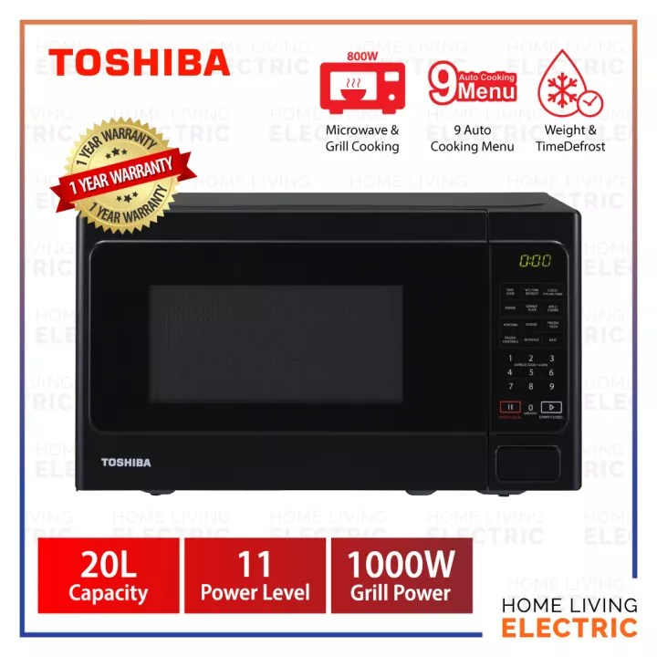 toshiba 20l microwave oven with grill function er sgs20 k my deluxe series microwave oven