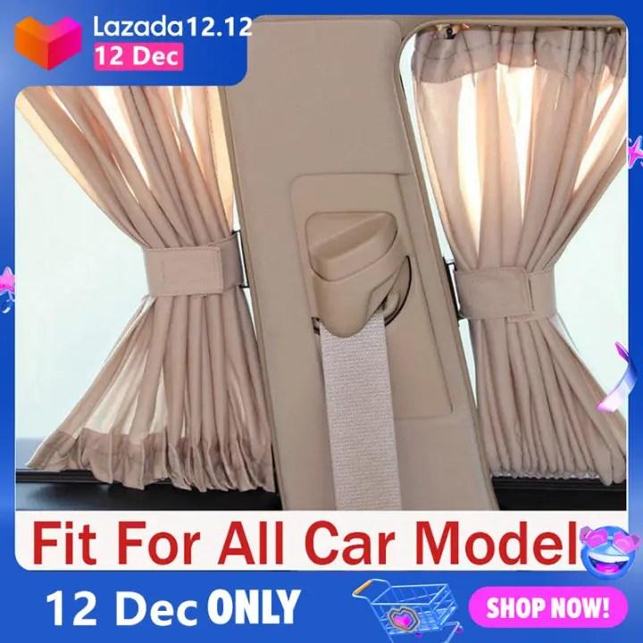 car curtain ma 2pcs set universal car side window sunshade curtains auto windows curtain sun visor blinds cover car styling s l