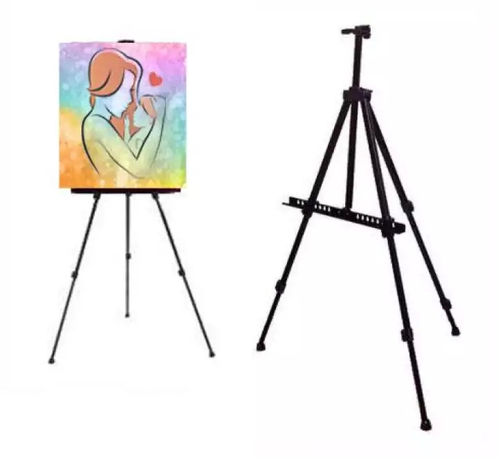 aluminium easel display tripod poster stand easel stand