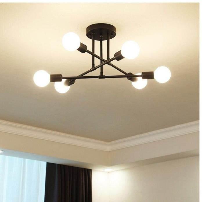 MODERN LED Chandelier Langit-langit Lampu Ruang Tamu Tempat Lilin Kamar Tidur Kreatif Perlengkapan Pencahayaan Rumah AC110V/220 V
