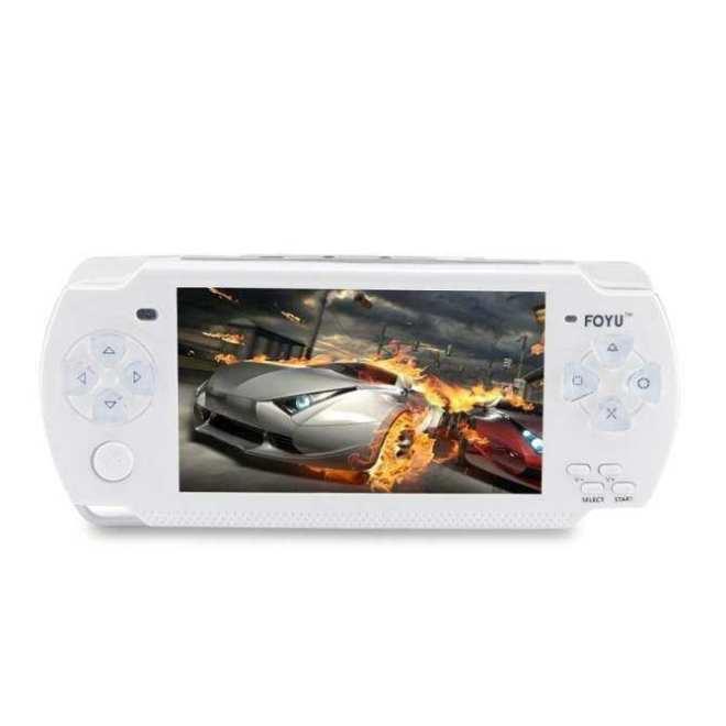 Terlaris 4 GB Handheld Permainan MP5/MP3/MP4 Pemutar dengan Ganda Joystick Kamera Tv-out konsol Permainan Portabel Putih-Internasional