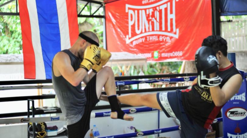 punrith muay thai gym bangkok